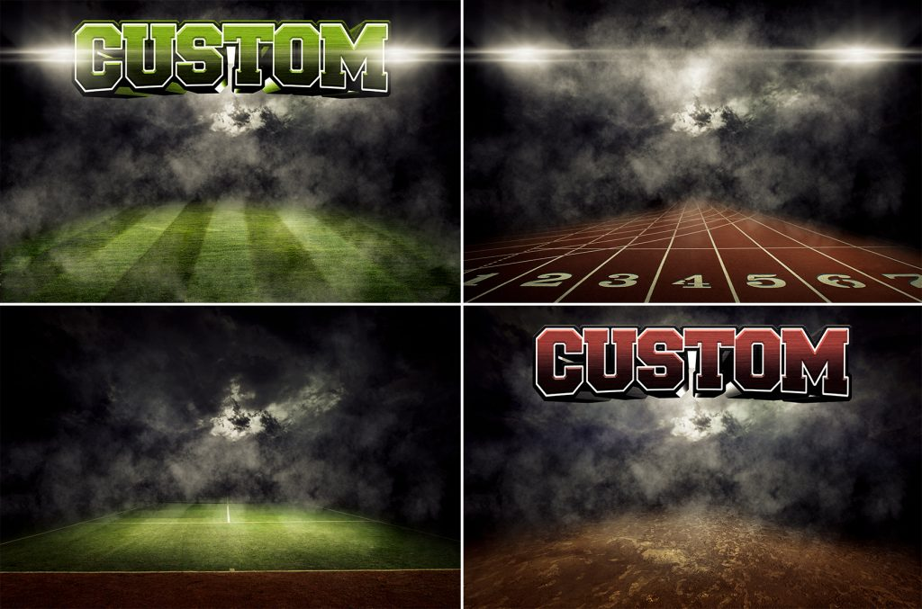 Photoshop templates wv photographers for Sports team photography templates