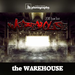 the Warehouse - Photoshop Template | Digital Background