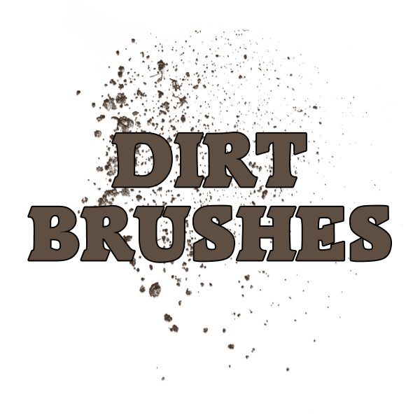 Dirt Photoshop Brushes