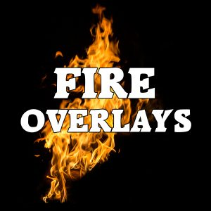 Fire Overlay Images