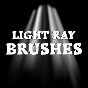 Light Rays Brushes for Photoshop