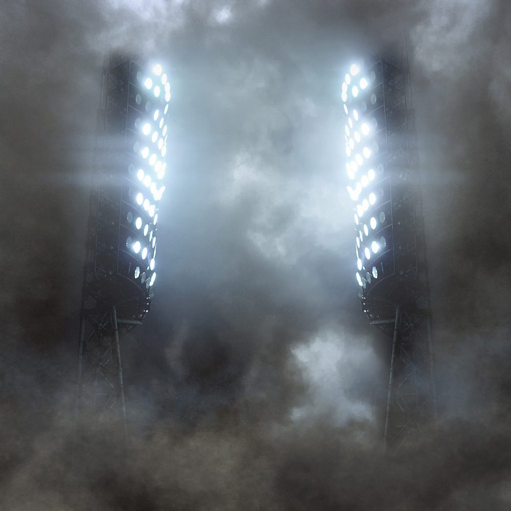 JHP Epic Stadium Individual Photoshop Template, Lights, Field