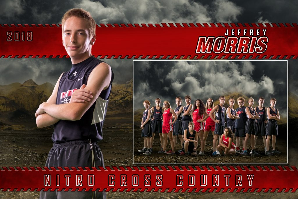 Cross Country Photoshop Templates | Digital Backgrounds