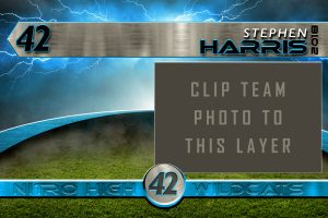 Sports Photoshop Template | Digital Background