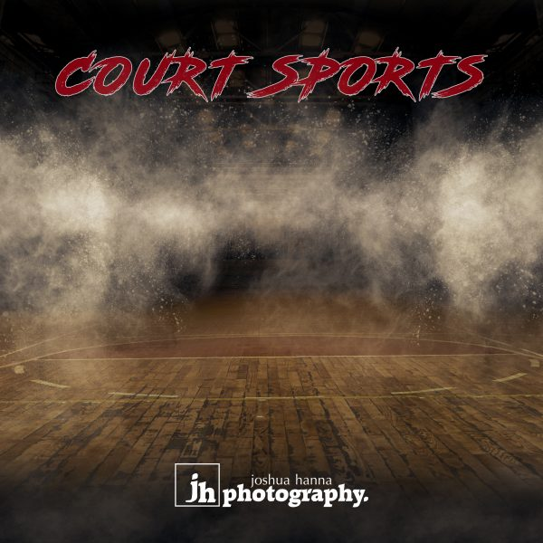 Court Sports - Photoshop Templates | Digital Backgrounds