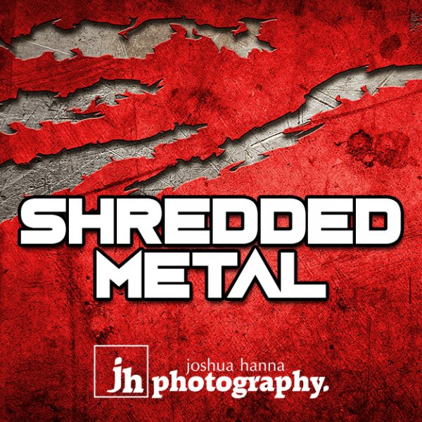 JHPBackgrounds Shredded Metal Sports