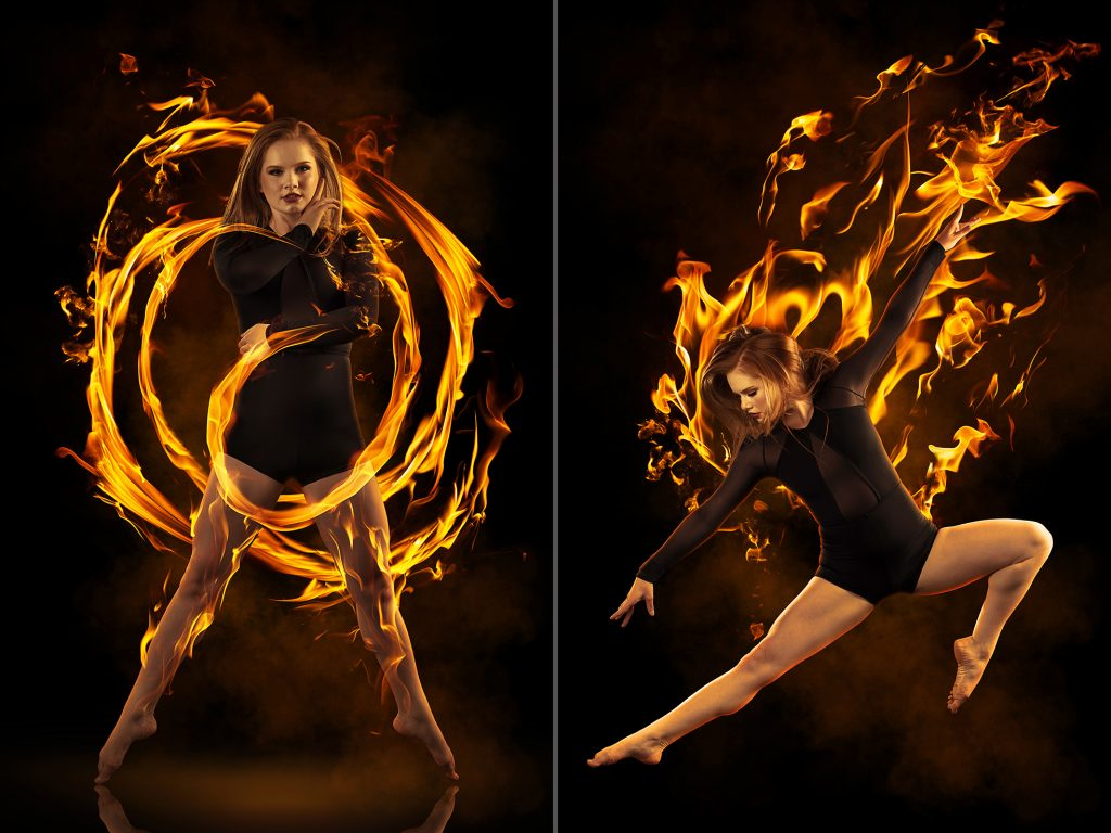Fire Dresses and Flame Effects