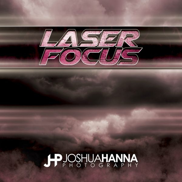 JHPBackgrounds Laser Focus Photoshop Template | Digital Background