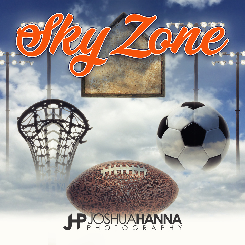 JHPBackgrounds_SkyZone Photoshop Template | Digital Background
