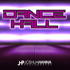 JHPBackgrounds Dance Hall Photoshop Template | Digital Background