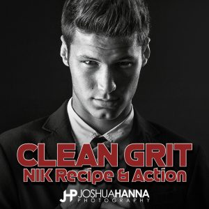 Clean Grit Photoshop Action