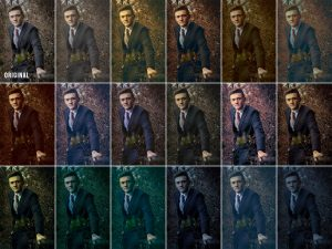 JHPBackgrounds Cinematic Color Grading Actions