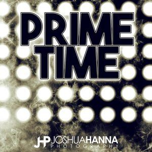 JHPBackgrounds Prime Time Photoshop Template | Digital Background
